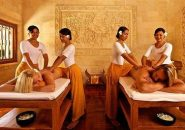 4 Hands massage services